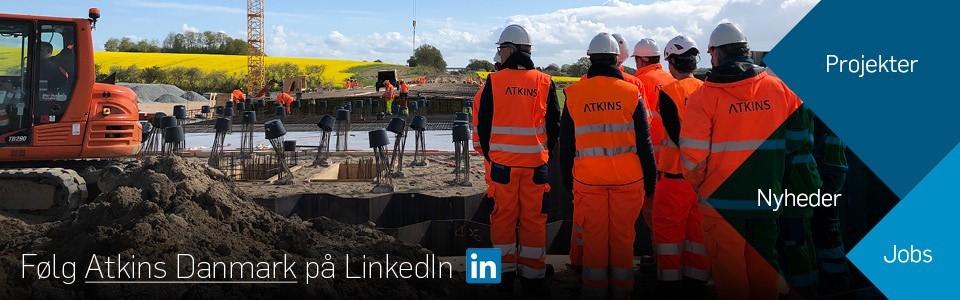 LinkedIn, Atkins Danmark, Atkins