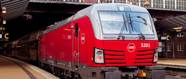 El-lokomotiv ved Hovedbanen