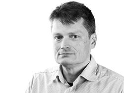 Afdelingschef for GIS og IT i Atkins, Johan Hartnack.
