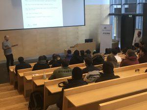 Studerende besøger Atkins - del af SNC-Lavalin Group