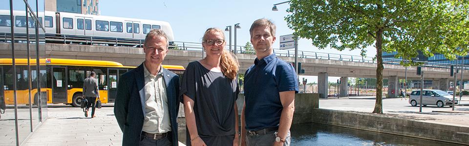 Jens Jorgensen, Eva Rindom og Per Lindholm Larsen
