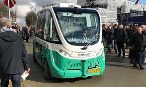 Førerløs bus i Aalborg