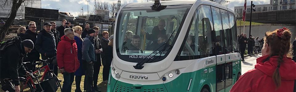 Bus uden chauffør i Aalborg
