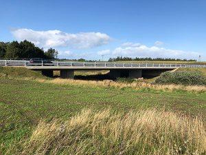 Landskabsbroen over Røjbæk Ådal, Haderup Omfartsvej, Atkins