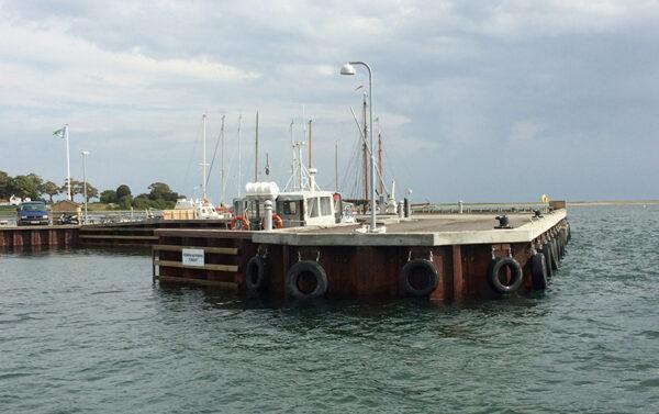 Renovering af Hjarnø Færgehavn